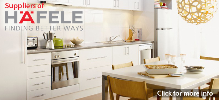 Suppliers of Hafele Kitchens. Click to see more.
