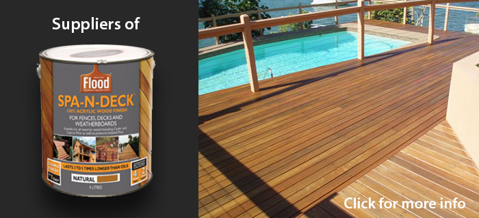 Suppliers of Spa-N-Deck. Click to see more.